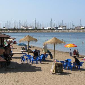 Playa y Puerto de Denia