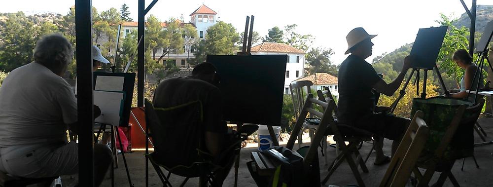 curso de verano pintura de paisaje
