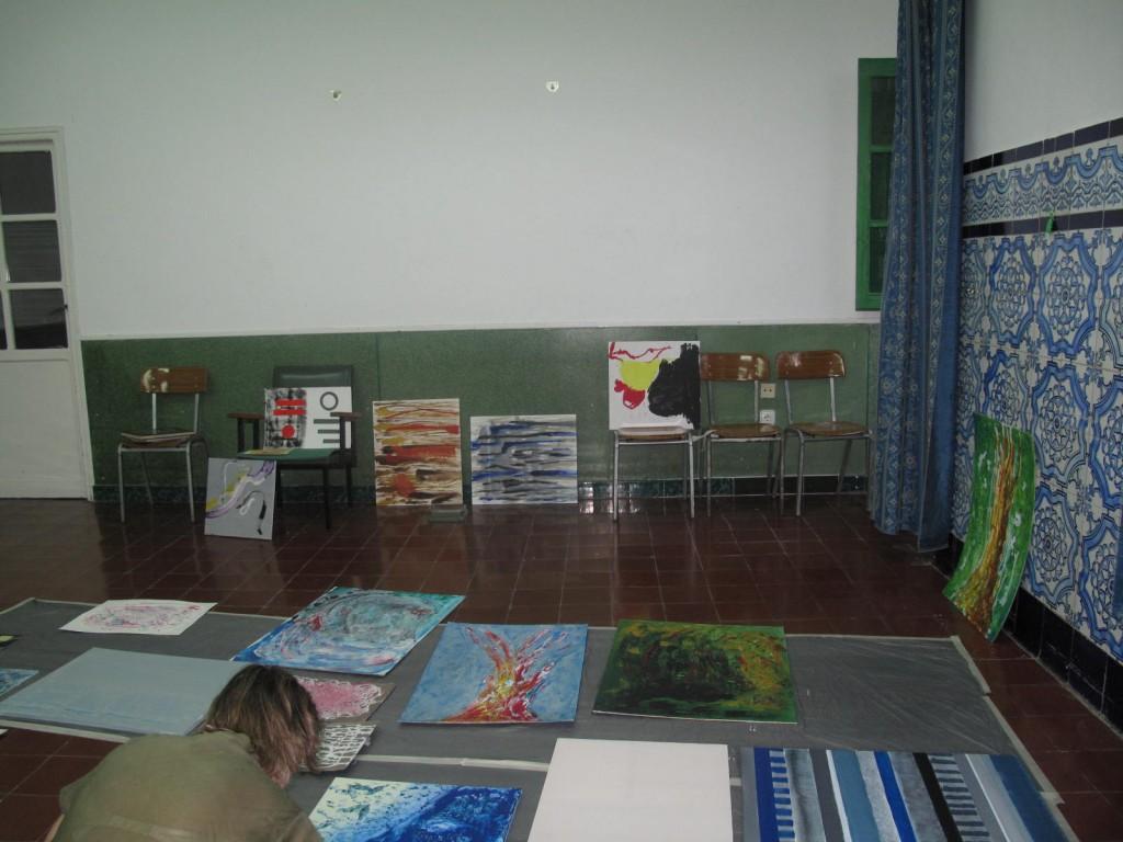 Curso de verano de pintuar abstracta