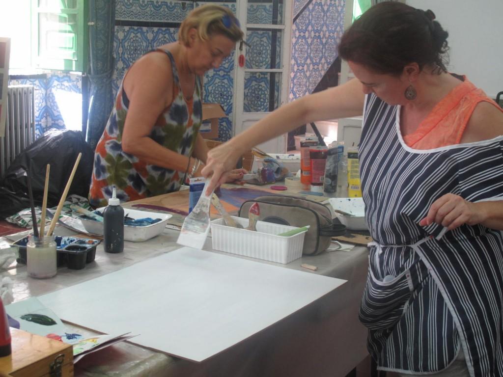 Curso de verano de pintura abstracta