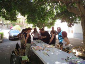 taller de acuarela verano